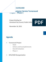 11.16.2011 Council PU Committee PPT CLE Utilities Phase 1 and Phase 2 Plans FINAL Version