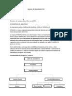 Analisis de Requerimientos Proyecto