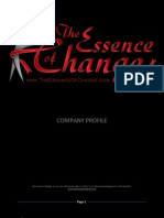 The Essence Of Change Company Profile