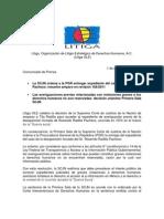 Comunicado Prensa Radilla SCJN