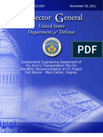 DoD Inspector General BRAC #133 Final Report