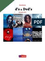 Aanwinsten Cd's en Dvd's November 2011