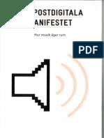 Fleischer - Det Post Digital A Manifestet