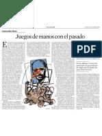 Francesc-Marc Álvaro. Juegos de Manos Con El Pasado