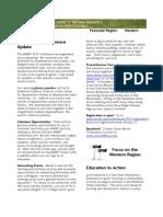 ANREP Fall 2011 Newsletter