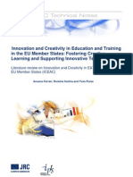 34534867 Innovation and Creativity in Education and Training in the EU Member States (1)