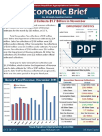 Rep. Adolph December 2011 Economic Brief