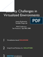 Joanna Rutkowska- Security Challenges in Virtualized Environments