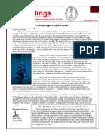December 2011 Newsletter