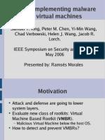 Samuel T. King, Peter M. Chen, Yi-Min Wang, Chad Verbowski, Helen J. Wang, Jacob R. Lorch- SubVirt