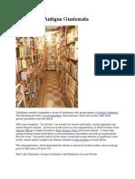 Book Stores Antigua Guatemala