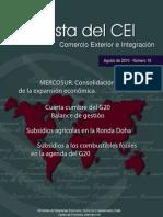 Revista Del CEI Comercio Exterior e Integracion - Agosto 2010 Numero 18