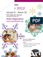Winter 2012 Brochure