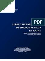 Julien Dupuy - Estudio de Cobertura de Seguros de Salud en Bolivia