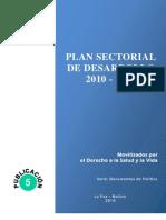 Julien Dupuy - Plan Sectorial de Desarrollo 2010-2020 Movilizados Por El Derecho a La Salud y a La Vida
