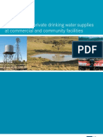 Australia; Guidelines for private drinking water supplies at commercial and community facilities - Victorian Government