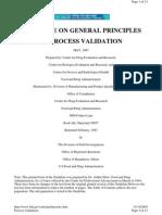Guide - Process Validation