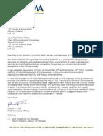 Letter to Mayor of Ottawa - Plasco Issue Docx