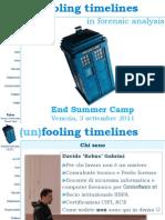 (Un)Fooling Timelines Www.tipiloschi