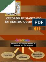 Cuidados Humanizados en Centro Quirurgico Paradigma de Profesional