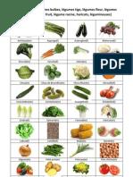 Les légumes fiche