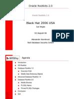 Alexander Kornbrust- Oracle Rootkits 2.0