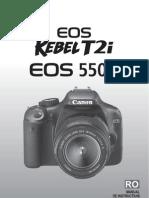 Manual Canon EOS 550D