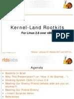 Kernel-Land Rootkits