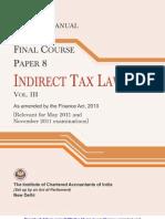 Indirect Tax Laws Vol.-iii (Practice Manual)_g2