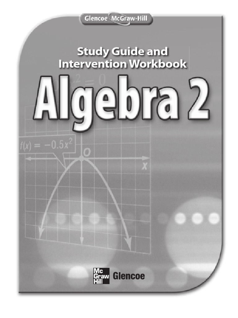 Glencoe algebra 2 workbook answers chapter 7
