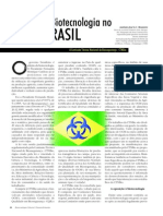 A Biotecnologia No Brasil