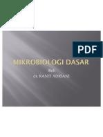 Mikrobiologi dasar