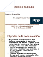 El Periodismo en Radio