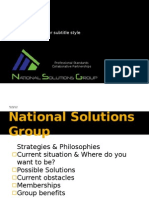 National Solutions Group