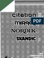 83 Citation Mirage Nordik Skandic 1