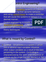 What is Control Engineering 1
