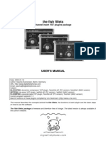 Fish Fillets Manual