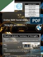 Endras BMW Social Media Campaign Pitch