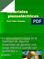 Piezoeléctricos