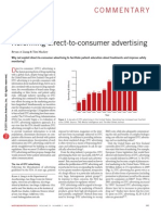 Reforming direct-to-consumer advertising