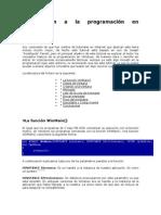 Introducción a la programación en OpenGL