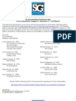 Speech Geek UIL 2011-12 Documentation Letter