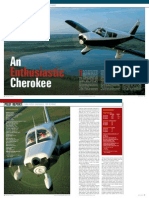 Cherokee Pirep Plane and Pilot