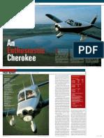 Cherokee Pirep Plane and Pilot