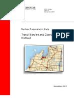 BATA Transit Service and Corrdination Study - Final Report
