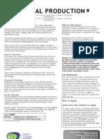ACTT Cert III & IV Tech Production Info 2012