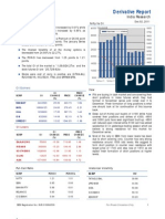Derivatives Report 2nd December 2011