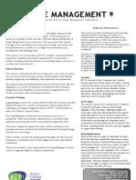 ACTT Stage Management Info 2012