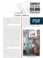 Sankalp Newsletter November 2011