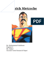 Friedrich Nietzsche Research Paper